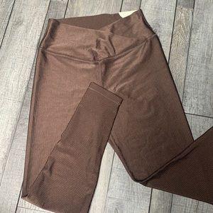 NWT shine crossover leggings